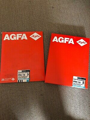 Agfa Portriga Rapid PRN 118 GR 3 Photographic Paper Double Weight -used