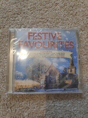 Festive Favourites CD Sealed Super Fast P+P 2015 Compilation