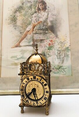 Smiths Brass Domed Carriage Clock 1950-1960