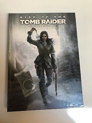 Rise of the Tomb Raider - Collector's Edition Prima Official Guide (w/ Keychain)