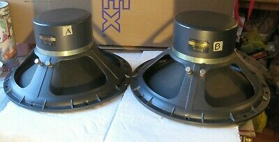 Lansing, Altec 515B, driver, woofer, 16 ohms,  PAIR