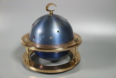Vintage Art Deco Cigarette Dispenser Brass Globe