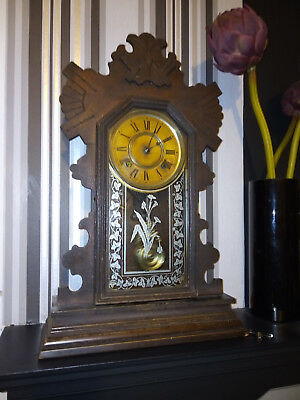 Antique Mantle Clock by Ansonia Clock Co of New York