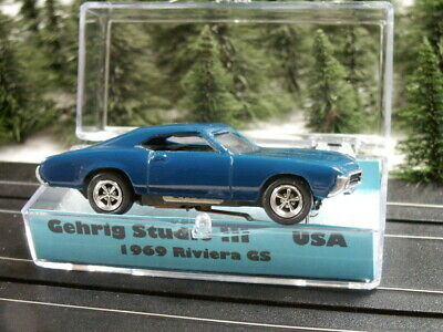 1969 Buick Riviera  NOS Aurora tjet chassis faller real Gehrig Studio III rare