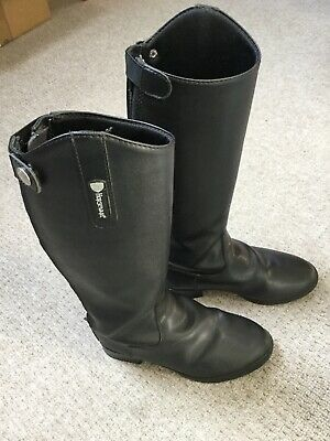 e8439a83af5b0 HORSEWARE LADIES LONG Syntetic Leather RIDING Boot Black 36-42 Std ...