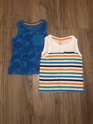 Selection Of Boys Summer Tops - Age 2-3 Years