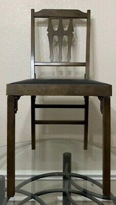 Vintage Leg-O-Matic Folding Wooden Chair Chairs Select Quantity