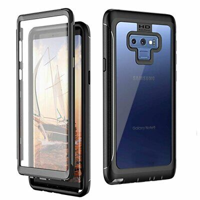 Built-in Screen Protector Full Body Case Cover for Samsung Galaxy S9 S8 S10 Plus