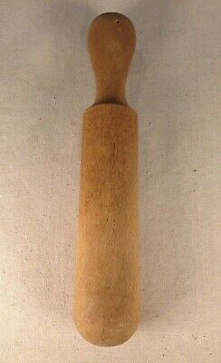 "Rare VG Antique Large 11"" Pennsylvania Dutch Wooden Muddler/Grinder/Pestle"