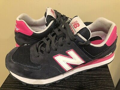various colors b194e a4dcb NEW BALANCE 574 Womens Blue/Pink Classic Sneakers WL574AMA ...