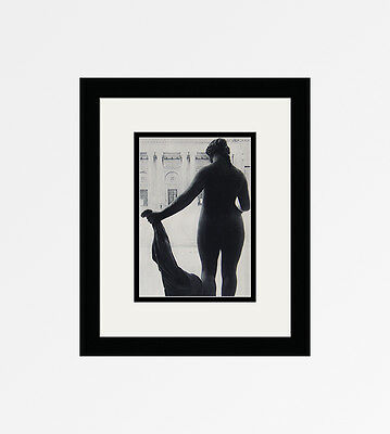 "Attractive BLUMENFELD 1930s Vintage Photogravure ""Beautiful Venus"" Framed COA"