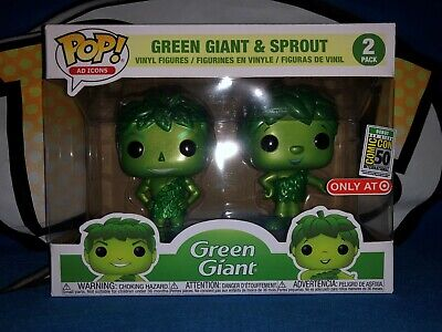 Funko Pop Green Giant & Sprout 2 pack SDCC exclusive