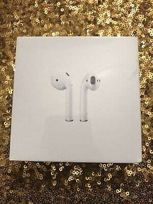 New And Authentic Apple AirPods 2nd Generation with Charging Case - White