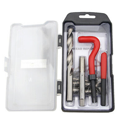 M5 M8 M10 M12 Metric Thread Repair Insert Tools Kit Helicoil Car Pro Coil Tool