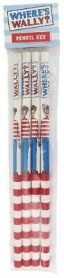 Where's Where is Wally Stationery Pencil set of 4