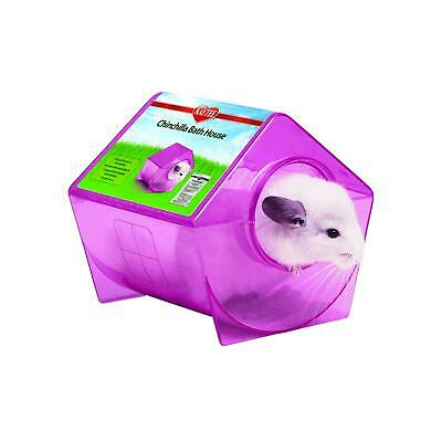 Kaytee Chinchilla Bath House, Colours Vary (Purple/Blue/Green/Magenta)