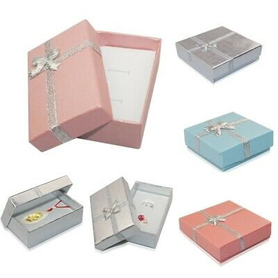 12x Jewellery Gift Boxes Bag Necklace Bracelet Ring Small Wholesale Pack Present