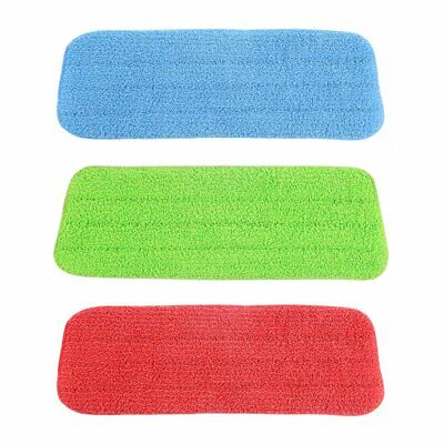 Microfibre Floor Mop Replacement Pad Cloths Spray Mop Refill Head Cloth Refil CA
