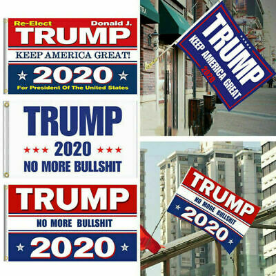 Ft Trump Flag 2020 Keep America Great Again Donald for President 3x5 USA MAGA