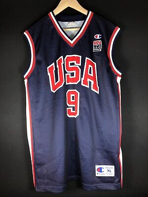 2001 Dream Team USA Vince Carter DUNK Raptors Trikot Basketball Jersey NBA XL