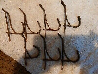 Vintage Coat Hat Barn Double Hooks