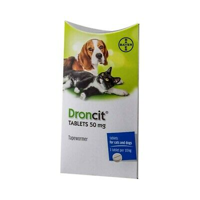 Droncit Dog & Cat worming tablets
