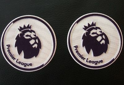 2 x Sporting id English Premier League Shirt Sleeve Arm Patches - Replica Size