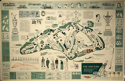 Original Plakat - Golf course