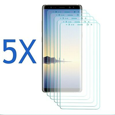5 Pack - Screen Protector Clear Film Guard Ultra Thin For Samsung Galaxy Note 8