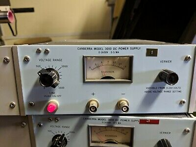 Canberra High Voltage Power Supply Model 3010  #1