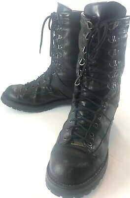 bdc207c7a07 DANNER UNIS FORT Lewis Boots Mens USA 11 D Leather Gore-Tex Military Work  29110