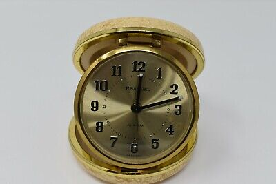 H.Samuel With Alarm Made In Germany Travel Clock