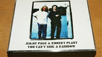 """Jimmy Page & Robert Plant """"You Can't Sink A Rainbow""""  2CD+1DVD Empress Valley."""