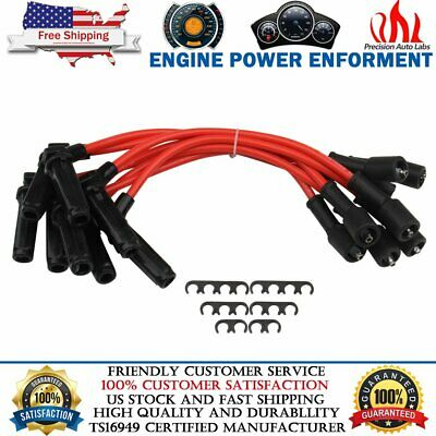ZZP 10.5mm Blue Performance Ignition Spark Plug Wires 5.3L Monte Carlo SS LS4