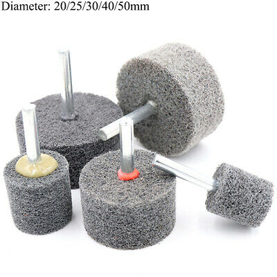 20-50mm Nylon Fiber Polishing Wheel Abrasive 1/4'' Shank for Drill Grinder Metal