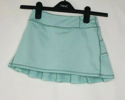 Gap Fit Girls Green Pleated Sports Skort Size Small 6-7 Years