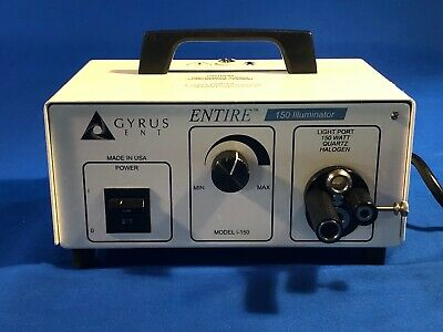 Gyrus I-150 Entire Ent Halogen Light Source Illuminator