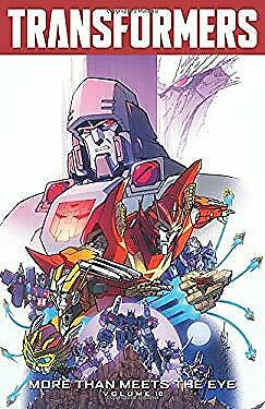 Transformers: More Than Meets The Eye Volume 10-Ex