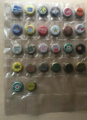 Lote de Chapas Años 90 Refrescos Cervezas - 90s Metal Caps Drinks Beers Badge