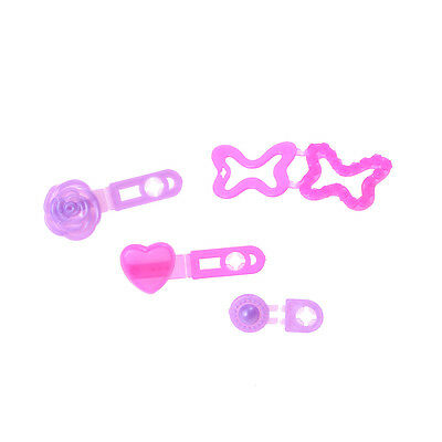 4pcs/set Cute Doll Hair Accessories Fashion Jewelry Hairpin For  Doll+v