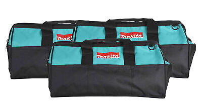 """Makita 21"""" Tool Bag with interior pockets, durable handle and zipper  3 Pack"""