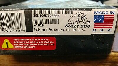 Bully Dog 41604 4-Bank 6 Position Chip