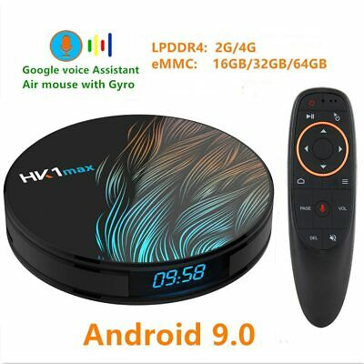 HK1 MAX Android 9.0 TV BOX 4K Youtube Assistant RK3328 4G 64G 3D Video