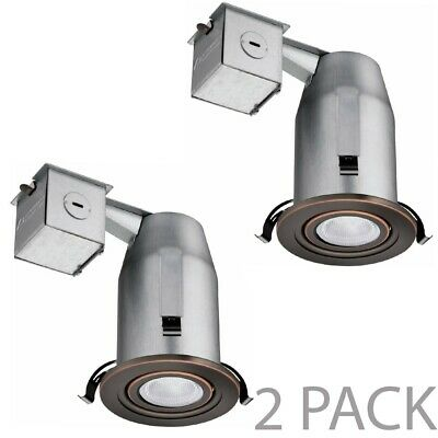 """6 PACK Lithonia Recessed Lighting 3/"""" Oil Rubbed Bronze Gimbals LK3GORB"""