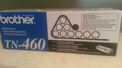 Genuine Brother TN460 TN-460 Toner Cartridge New Sealed in box