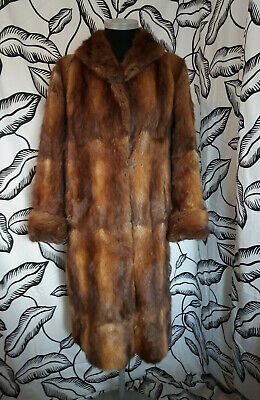 Vintage Colman Sumberg Genuine Fur Coat Medium