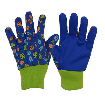 3 Pairs Soft & Comfortable Design for Kids Gardening Gloves,Yard Garden Work S,