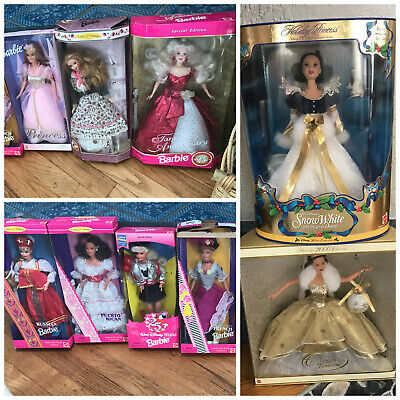 Barbie - Lot of 9 collector & special edition Barbies - NIB