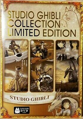 STUDIO GHIBLI COLLECTION LIMITED EDITION (DVD-2014,6-Disc Box Set) 0/ALL Regions