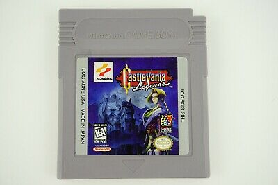 Castlevania Legends (Nintendo Game Boy GB 1998) Authentic Tested Game Only